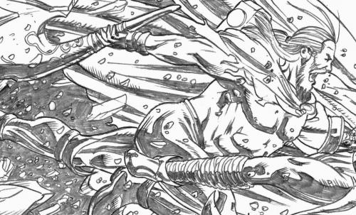 Thor sample pencil pages